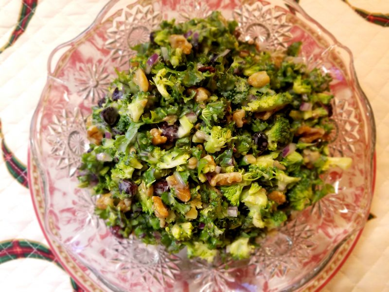 Broccoli & Kale Salad